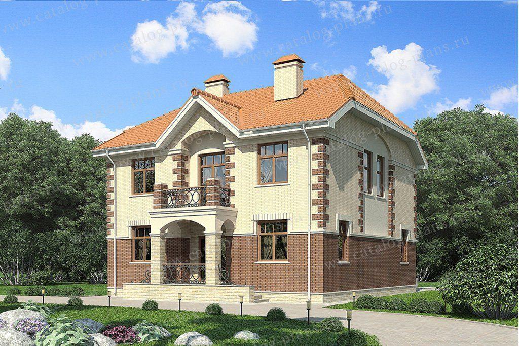 Проекты кирпичных 2 эт домов - новости - интересные факты. b.